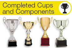 Completed Cups and Components