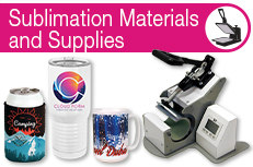 Sublimation Materials and Supllies